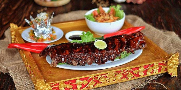 Food from Warung Nia, Seminyak, Bali