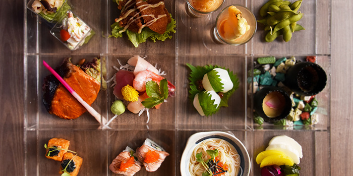 4x3 Grid Box from Hana Restaurant in Orchard, Singapore