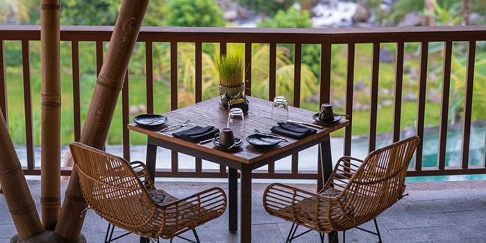Interior from Sleeping Gajah Kitchen and Lounge, Karangasem, Bali