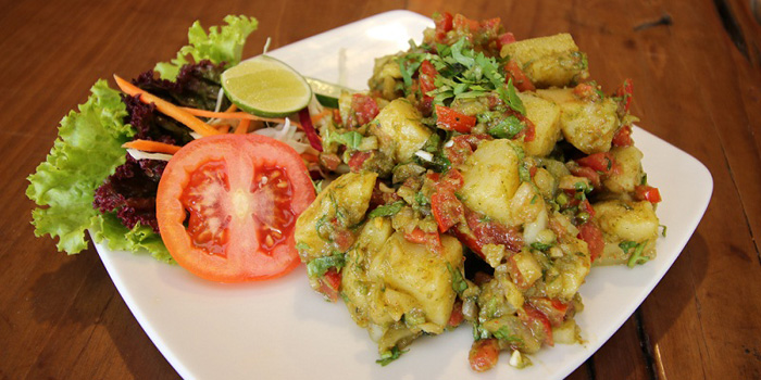 Aloo Chaat at Indian Tandoor, Jimbaran
