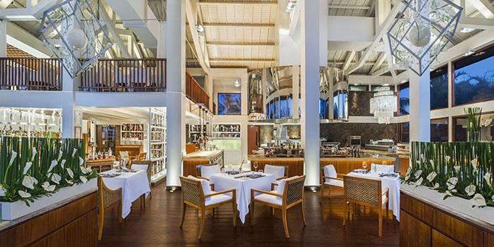 Interior at Kayuputi Restaurant, Nusa Dua