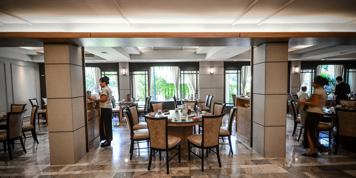 Ambience of East Ocean Chinese Restaurant at SC Park Hotel 474 Soi Ramkumhang 39 (thep-leela) Phlabphla Wang Thonglang District Bangkok