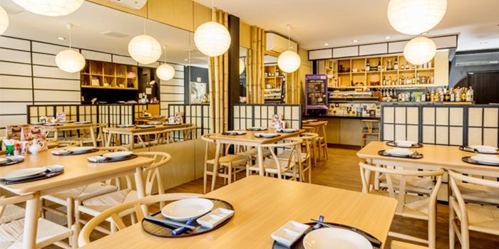Atmosphere of Take Japanese Restaurant in Cherngtalay, Phuket, Thailand
