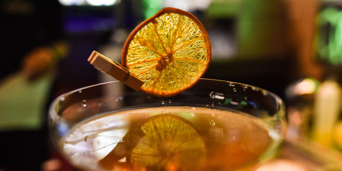Drinks 3 at Blu Martini, JW Marriott Mega Kuningan
