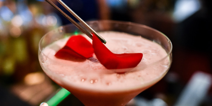 Drinks 1 at Blu Martini, JW Marriott Mega Kuningan