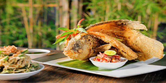 Food at Ginger Moon in Seminyak, Bali