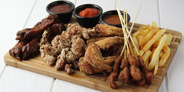 Carnivore Platter from Meats N Malts at BreadTalk IHQ in Tai Seng, Singapore