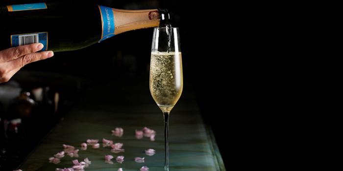 Champagne, Maison ES, Wan Chai, Hong Kong