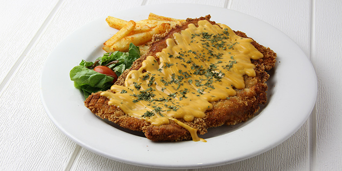 Cheesy XXL Fried Chicken from Meats N Malts at BreadTalk IHQ in Tai Seng, Singapore