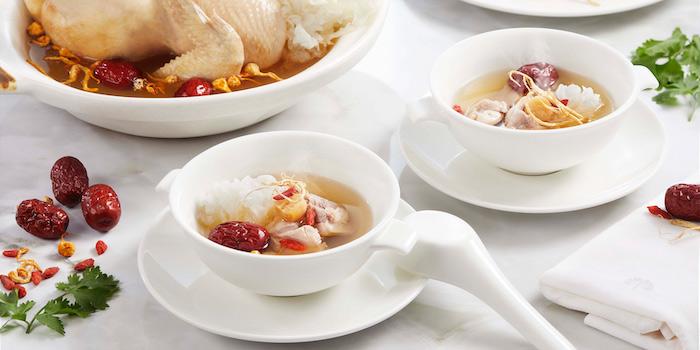 Chicken Soup at Arts Café by Raffles (Raffles Hotel Jakarta)