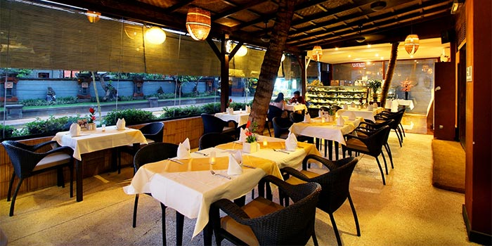 Venue from Chocolate Cafe, Jimbaran, Bali