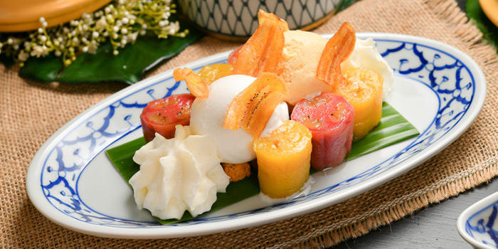 Dessert Dishes from Plu at 3 Soi Sathon 3 Thung Maha Mek, Sathon Bangkok