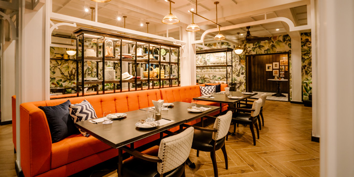 Dining Area of Plu at 3 Soi Sathon 3 Thung Maha Mek, Sathon Bangkok