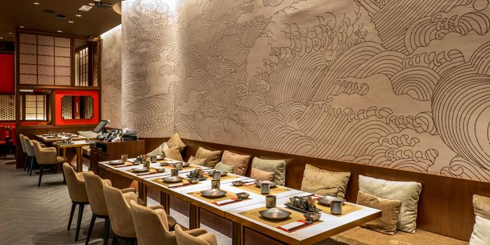 Dining Area, KAIYŌ, Tsim Sha Tsui, Hong Kong