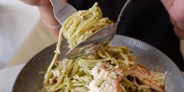 Creamy Pesto Spaghetti at Goedkoop (Karang Tengah)