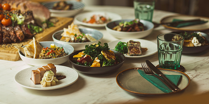 Food Spread from Don Ho - Social Kitchen & Bar at The Working Capitol Building in Keong Saik, Singapore