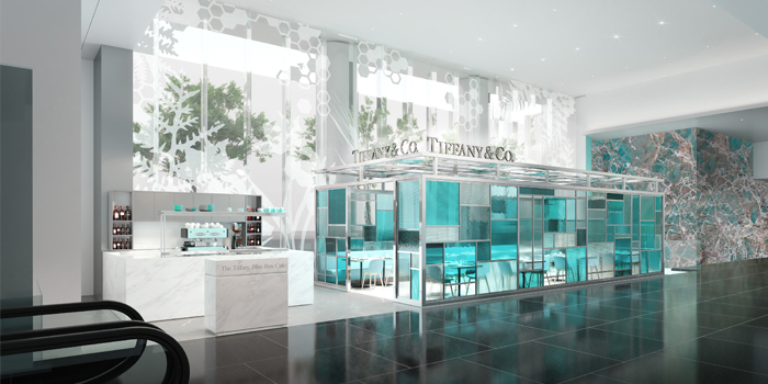 The Tiffany Blue Box Cafe Hong Kong