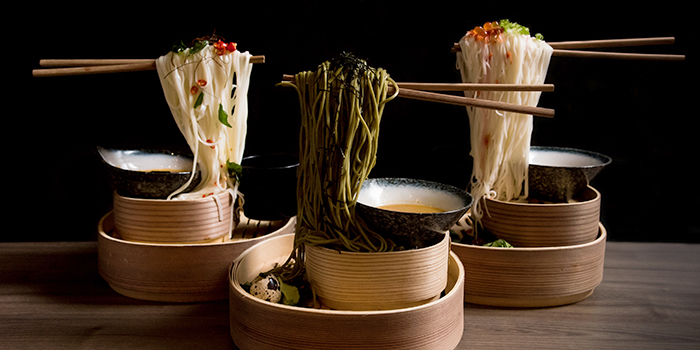 Flying Noodles from Hana Restaurant in Orchard, Singapore