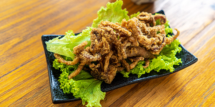 Fried Squid Arms from The Glass Onion at Bencoolen in Bugis, Singapore