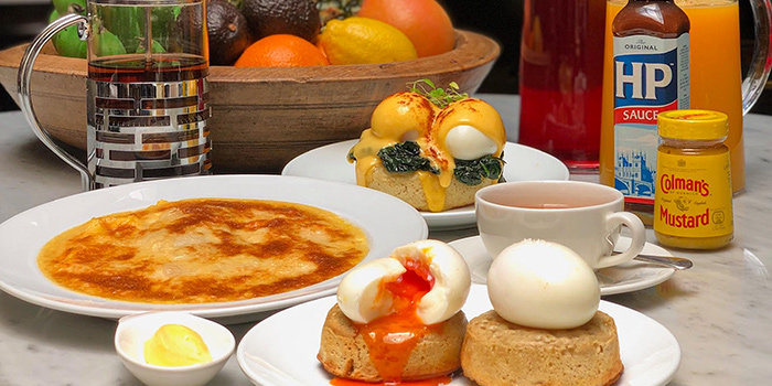 Great English Breakfast from The English House by Marco Pierre White in Robertson Quay, Singapor