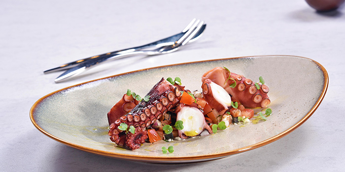 Grilled Octopus from Mpire Restaurant & Bar in Telok Ayer, Singapore