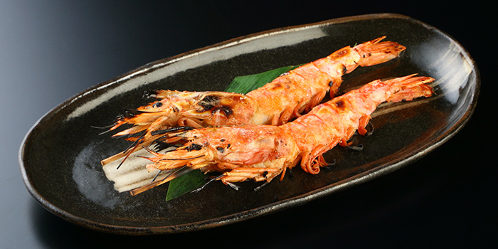 Grilled Prawns from Amazing Hokkaido in Robertson Quay, Singapore