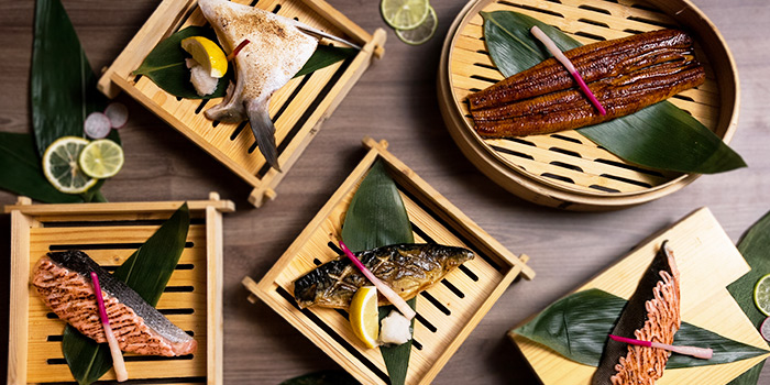 Grilled Fish from Hana Restaurant in Orchard, Singapore