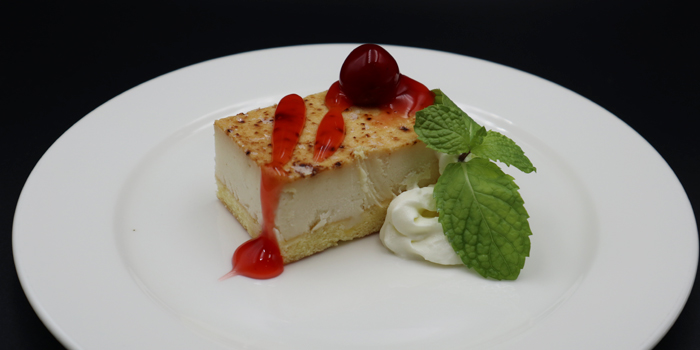 Hokkaido-Bluelee-Cheese-Cake from Take Japanese Restaurant in Cherngtalay, Phuket, Thailand