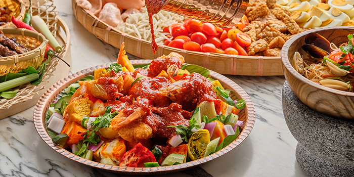 Indian Rojak from Food Exchange at Novotel Singapore on Stevens in Tanglin, Singapore