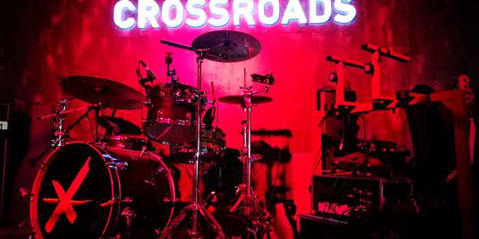 Interior of Live At The CROSSROADS at The Foundry in Clarke Quay, Singapore