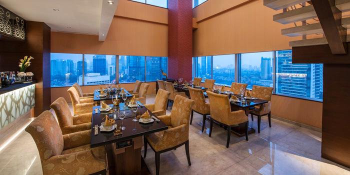 Interior 1 at Kahyangan Restaurant, Jakarta