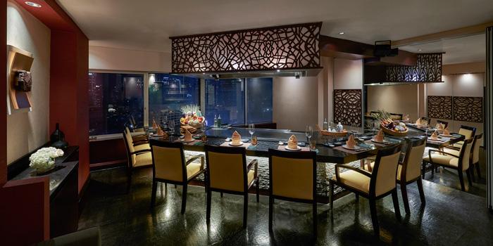 Interior 2 at Kahyangan Restaurant, Jakarta