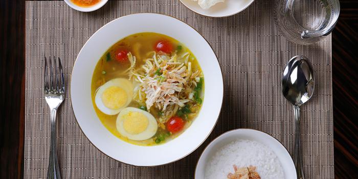 Dish 2 at Palm Court, Four Seasons Hotel Jakarta