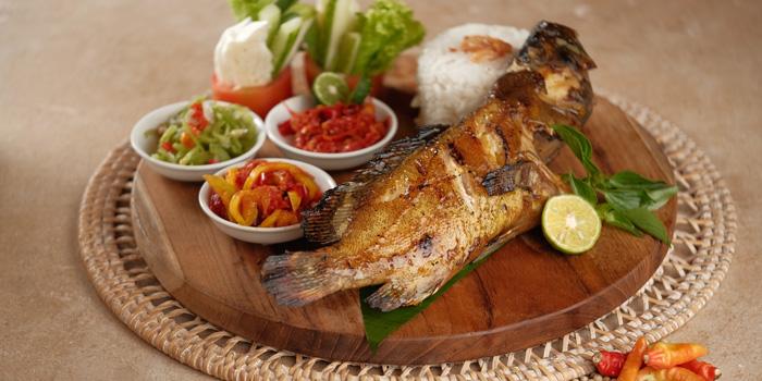 Kerapu Bakar Teluk Naga at Mezzanine Restaurant, Gading Serpong