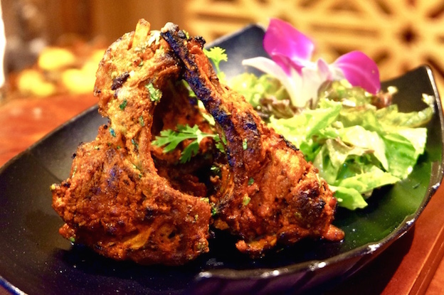 Lamb Tandoor from Bawarchi Rooftop at Solitaire Hotel Bangkok (Rooftop 16th Floor) 75/23 Sukhumvit Soi 13 Klongtoey-Nua Bangkok