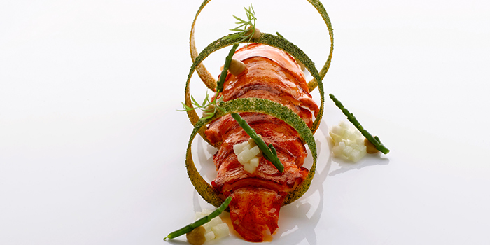 Lobster from Saint Pierre in One Fullerton in Raffles Place, Singapore