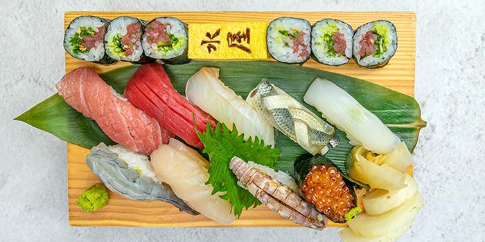 Nigri Sushi from Mizuya at Cavan Suites in Jalan Besar, Singapore