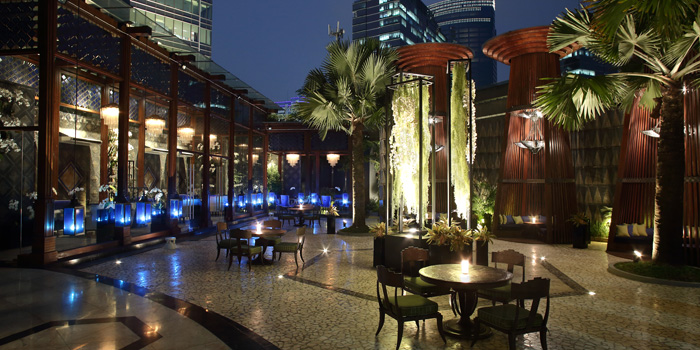 Interior 2 at Palm Court, Four Seasons Hotel Jakarta