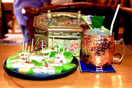 Paan and Drink from Bawarchi Rooftop at Solitaire Hotel Bangkok (Rooftop 16th Floor) 75/23 Sukhumvit Soi 13 Klongtoey-Nua Bangkok