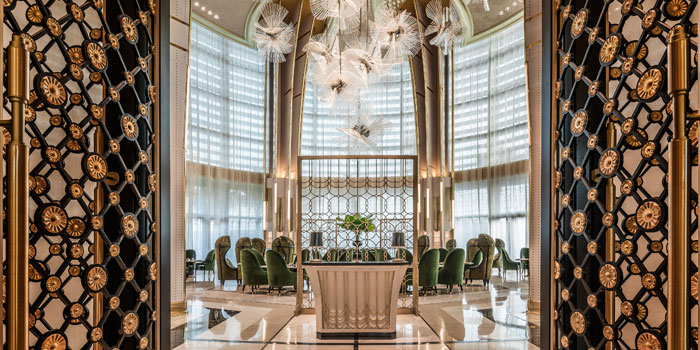 Interior 3 at Palm Court, Four Seasons Hotel Jakarta