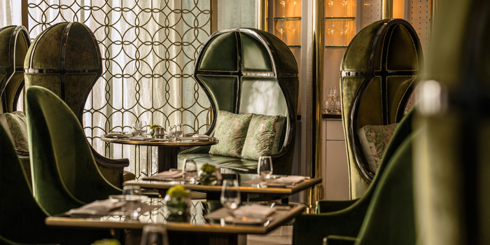 Interior 4 at Palm Court, Four Seasons Hotel Jakarta
