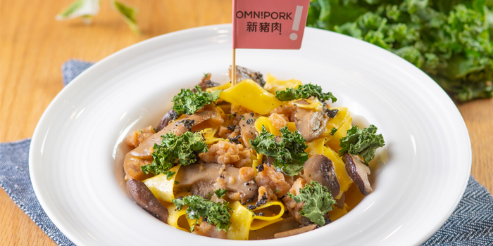 Pappardelle with Omnipork, Flame at Towngas Avenue, Tsim Sha Tsui, Hong Kong