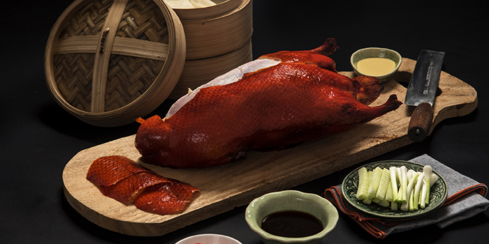 Peking Duck from East Ocean Chinese Restaurant at SC Park Hotel 474 Soi Ramkumhang 39 (thep-leela) Phlabphla Wang Thonglang District Bangkok