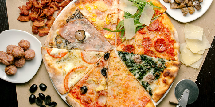 Pizza Cou Assaggi Misti from Ciao Pizza at Sitthi Vorakij Building 1st floor, Soi Phiphat, Silom Bangkok