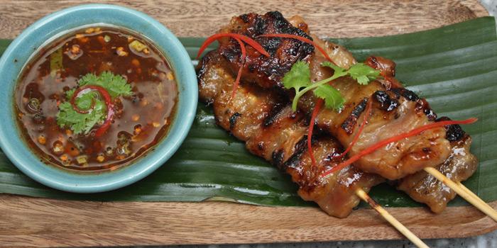 Pork Skewer, Ruam, Wan Chai, Hong Kong