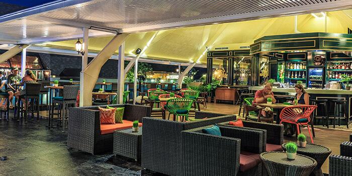 Interior from Riva Bar and Restaurant, Kuta, Bali
