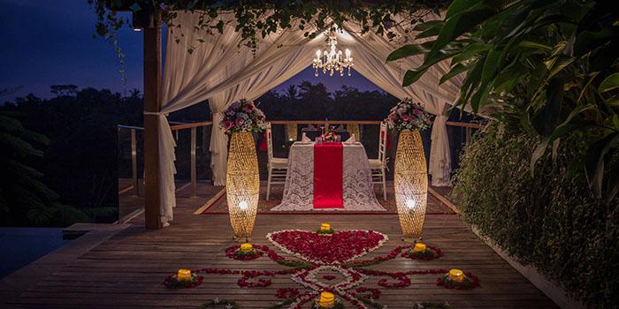 Romantic Dinner from Senja Bar & Resto, Ubud, Bali