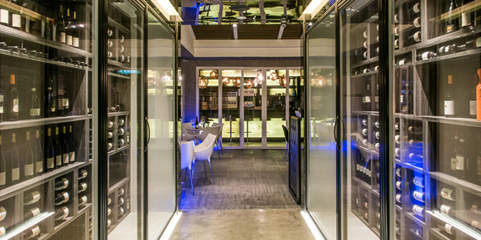 Interior from ALBA 1836 Italian Restaurant in Duxton, Singapore