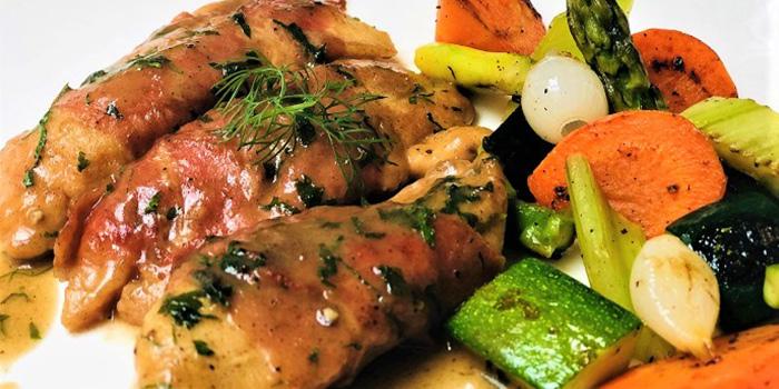Chicken from ALBA 1836 Italian Restaurant in Duxton, Singapore