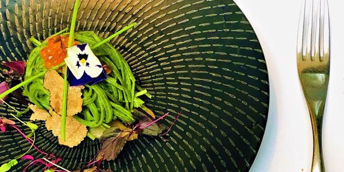 Cold Tagliolini from ALBA 1836 Italian Restaurant in Duxton, Singapore